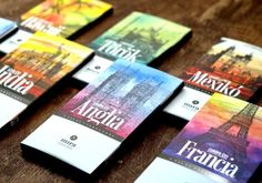 Mira Premium Chocolate on Packaging of the World - Creative Package Design Gallery