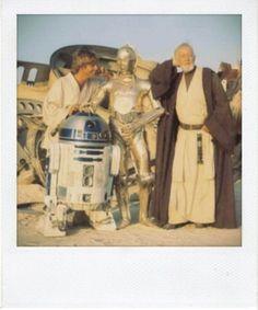 Star Wars IV, le polaroid scattate sul set negli anni '70 - Spettacoli - Repubblica.it