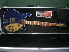 RICKENBACKER 660MD - 6-STRING MIDNIGHT BLUE GUITAR  This is one of THE classic guitars of all time.  The 660 says everything that needs to be said about the remarkable Rickenbacker heritage, whilst at the same time boasting everything that is great about modern Rickenbackers.  This is a 'once in a lifetime' guitar.  The sort of thing a Rickenmaniacker would promise themselves 'one day.'