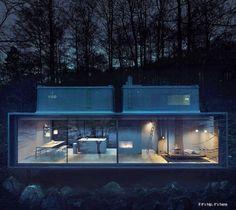 Vipp-Shelter-Outside-Night IIHIH