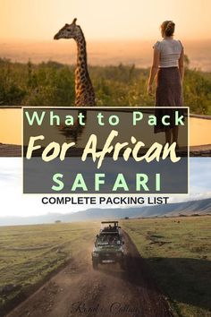 It is important to know not only what to pack for African safari but also what not to pack and better leave at home. Here is a complete packing list for safari so you could enjoy this once in a lifetime adventure in full Packing Tips, Travel Packing, Packing Outfits, Europe Packing, Traveling Europe, Backpacking Europe, Travelling, Travel Guides, Travel Tips
