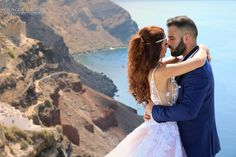 "My love, I feel so blessed just by looking at you."" Photography by Giorgos Dedes in Imerovigli Santorini for www."