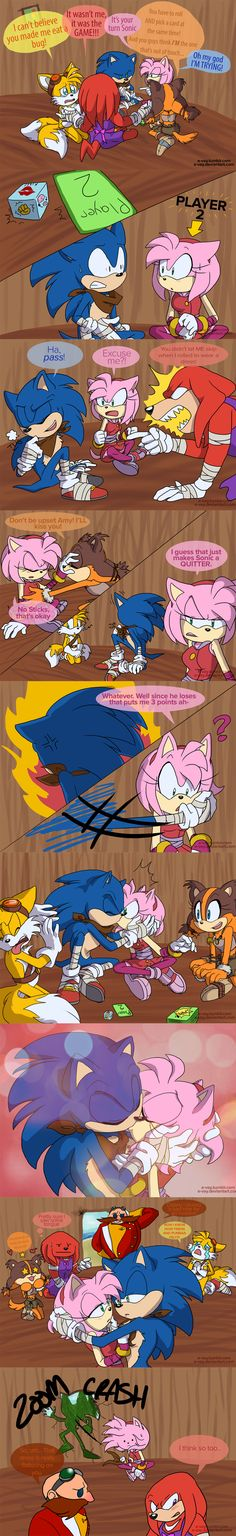 Sonic Boom: Kiss and Tell by E-vay.deviantart.com on @deviantART <----um. what just happened.