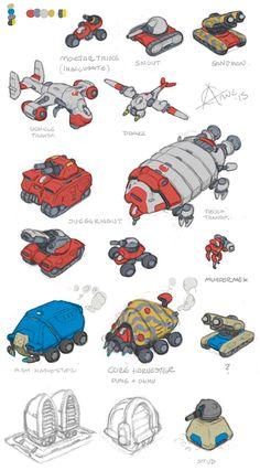 Spaceship Art, Spaceship Design, Arte Sci Fi, Sci Fi Art, Robot Concept Art, Environment Concept Art, Concept Ships, Game Concept, Game Character
