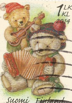 Stamp from Finland, 2014. Finnish stamps are the best!