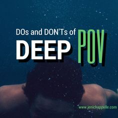 DOs and DON'Ts of Deep POV | Jeni Chappelle (I finally understand that I've been mixing Deep and Traditional Third...)