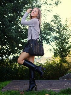 Botas negras | Looks and shoes