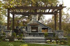 A great outdoor room idea