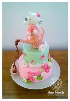 Hello Kitty estilo Shabby Chic