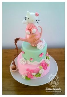 Hello Kitty estilo Shabby Chic