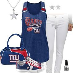 New York Giants All Star Outfit