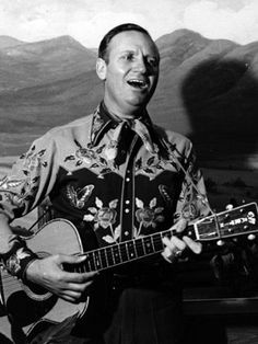 Gene Autry ... Autry was a skytrain pilot in US Army Air Force.