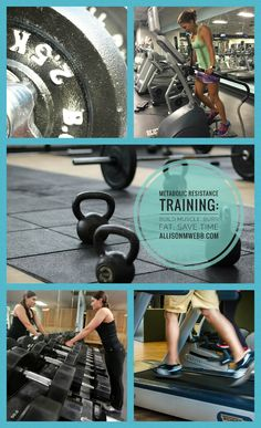 Metabolic Resistance Training (MRT) could be the holy grail for those looking to simultaneously build muscle and burn fat. Get the info and get started at AllisonMWebb.com.