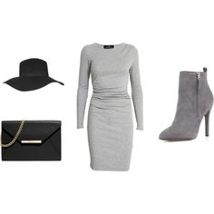 Cloudy day by sharnapelling on Polyvore featuring Designers Remix, Pour La Victoire, MICHAEL Michael Kors and Topshop
