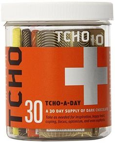 Traditional TCHO Chocolate Bar, Tcho-a-Day, 30 Count, ,