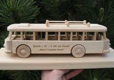 Spielzeug Bus Holzspielzeug