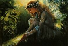 The fae folk are commonly known as fairies or faeries but sprites, leprechauns and other ethereal creatures are also included in this term. Description from littlecloudofsanity.blogspot.com. I searched for this on bing.com/images