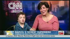 Hawkeye and Blue Ear: Marvel Comics creates a hearing-impaired superhero in honor of deaf boy