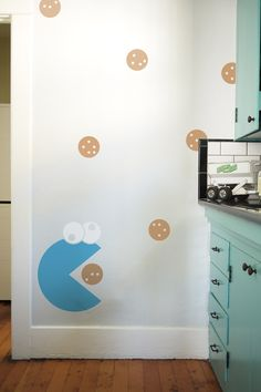 Blik unique wall decals are a fun and creative way to brighten up any room in the house. Browse our selection of wall stickers for sale online. Wall Stickers, Wall Decals, Wall Art, Faux Headboard, Wall Clings, Kitchen Art, Kitchen Stuff, Kitchen Ideas, My Room