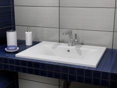 Νιπτήρας μπάνιου Slim-60 60x46cm Corfu, Sink, Bath, Home Decor, Sink Tops, Vessel Sink, Bathing, Decoration Home, Room Decor