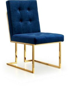 Willa Arlo Interiors Robey Upholstered Dining Chair (Set of , Upholstered Dining Chairs, Dining Chair Set, Dining Room, Dining Sets, Blue And Gold Living Room, Most Comfortable Office Chair, 5 Piece Dining Set, Parsons Chairs, Metal Chairs