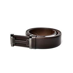 SCUUP | Scuup Men's Leather Belt MB008 -Brown