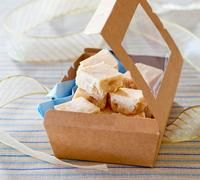 If you really want to spoil someone, this fudge makes a delicious homemade gift. Pop some squares of fudge into a nice jar tied up with ribbon or a chocolate box you have lined and covered with wrapping paper.