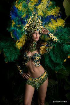 Green Goddess of Samba!