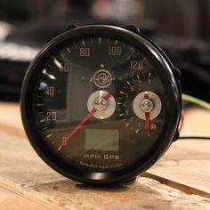 Cognito Moto GPS Speedo and small Tach from  Cognito Moto