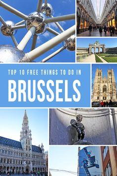 Bruselas, como el corazón de Europa, es una ciudad llena de energía! Entre las diversas actividades y atracciones, aquí están las 10 mejores cosas GRATIS que usted puede hacer