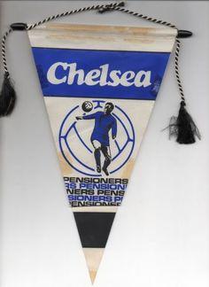 1960s Chelsea FC pennant
