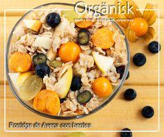 Porridge de Avena con berries  #macrobiotico #vegano #omega3 #probiotico #superalimentos #kosher #vegetariano #fitness #libredealergenos #libredegluten #libredecaseina #supplementosnutricionales #alimentosfuncionales #wellness #longevity #comunidadrusaenChile #comunidadjaponesaenChile #comunidadangloenChile #trigo #serraceno #superfoods #alimentosfermentados #newlevel