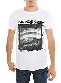 HOTTOPIC.COM - Imagine Dragons Landscape Slim-Fit T-Shirt
