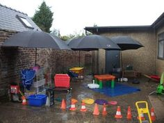 Outdoors has to be outdoors and NOT just indoors taken outside! outdoor area for the British weather