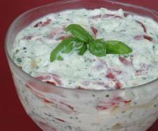 Rezept Italienischer Schichtsalat von Marlene02 - Rezept der Kategorie Vorspeisen/Salate