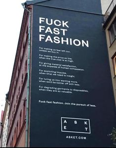 This in-depth essay on the unethical, fast fashion industry reveals many social and environmental issues, from slave and forced labour, lack of living wages that perpetuate cycle of poverty and inequality and how to spot a conscious, ethical fashion label Sustainable Living, Sustainable Fashion, Sustainable Style, Fast Fashion, Slow Fashion, Fashion Essay, Fashion Quotes, Ethical Fashion, Industrial Style
