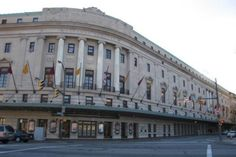 The Eastman Theater in Rochester, NY, home to the Eastman School of Music. I had a chance to meet Chuck Mangione, here, once. Blew it off. I was just a dumb kid at the time; what did I know?