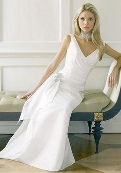 7085be59103 131 Best Wedding Dress Older Bride Over 40 images