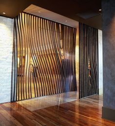 Stunning Privacy Screen Design for Your Home 26 Decorative Screen Panels, Decorative Room Dividers, Home Interior, Interior Design Kitchen, Modern Interior, Interior Decorating, Decorating Tips, Lobby Interior, Design Hotel