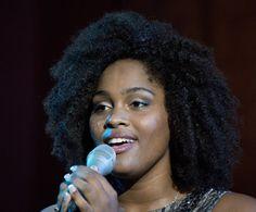 Bria Drain singing @Palermo classica 2014 Phototoediting di Attilio Taranto