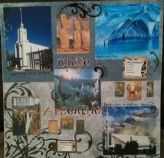 Chile and Argentina page (David is on his mission in Chile)