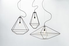 CON-TRADITION Lamp Collection by MICROmacro