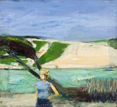 Richard Diebenkorn (USA 1922-1993) Landscape with Figure (1963)