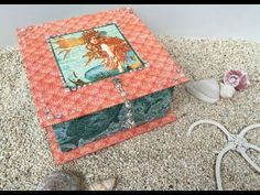 Trinket Box Tutorial - with Graphic 45 or any other papers in your collection! - YouTube