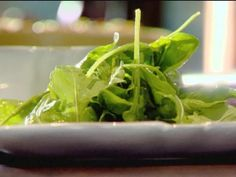 Get Arugula Salad and Ultimate Vinaigrette Recipe from Food Network
