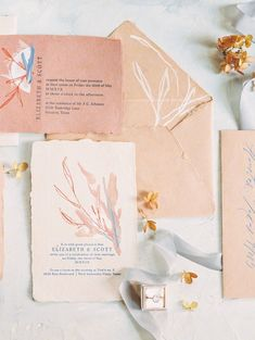 Intimate, family filled Houston wedding at Tiny's No. 5 — The Petaler Romantic Wedding Stationery, Wedding Stationery Inspiration, Beach Wedding Invitations, Watercolor Wedding Invitations, Wedding Invitation Design, Wedding Stationary, Illustrated Wedding Invitations, Wedding Branding, Event Invitations