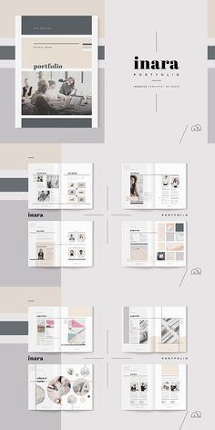 Find tips and tricks, amazing ideas for Portfolio layout. Discover and try out new things about Portfolio layout site Modelo Portfolio, Mise En Page Portfolio Mode, Free Portfolio, Graphic Portfolio, Portfolio Examples, Portfolio Book, Portfolio Design Layouts, Print Design Layouts, Booklet Design Layout