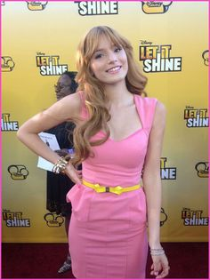 "Bella Thorne Records A New Song For Disney Channel's ""Shake It Up"" January 2013"