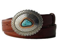 Walt Doran | Turquoise Belt Buckle