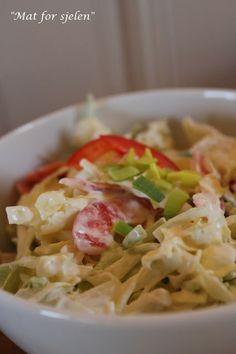 Coleslaw... Coleslaw, Lchf, Sugar Free, Cabbage, Low Carb, Gluten Free, Vegetables, Food, Glutenfree